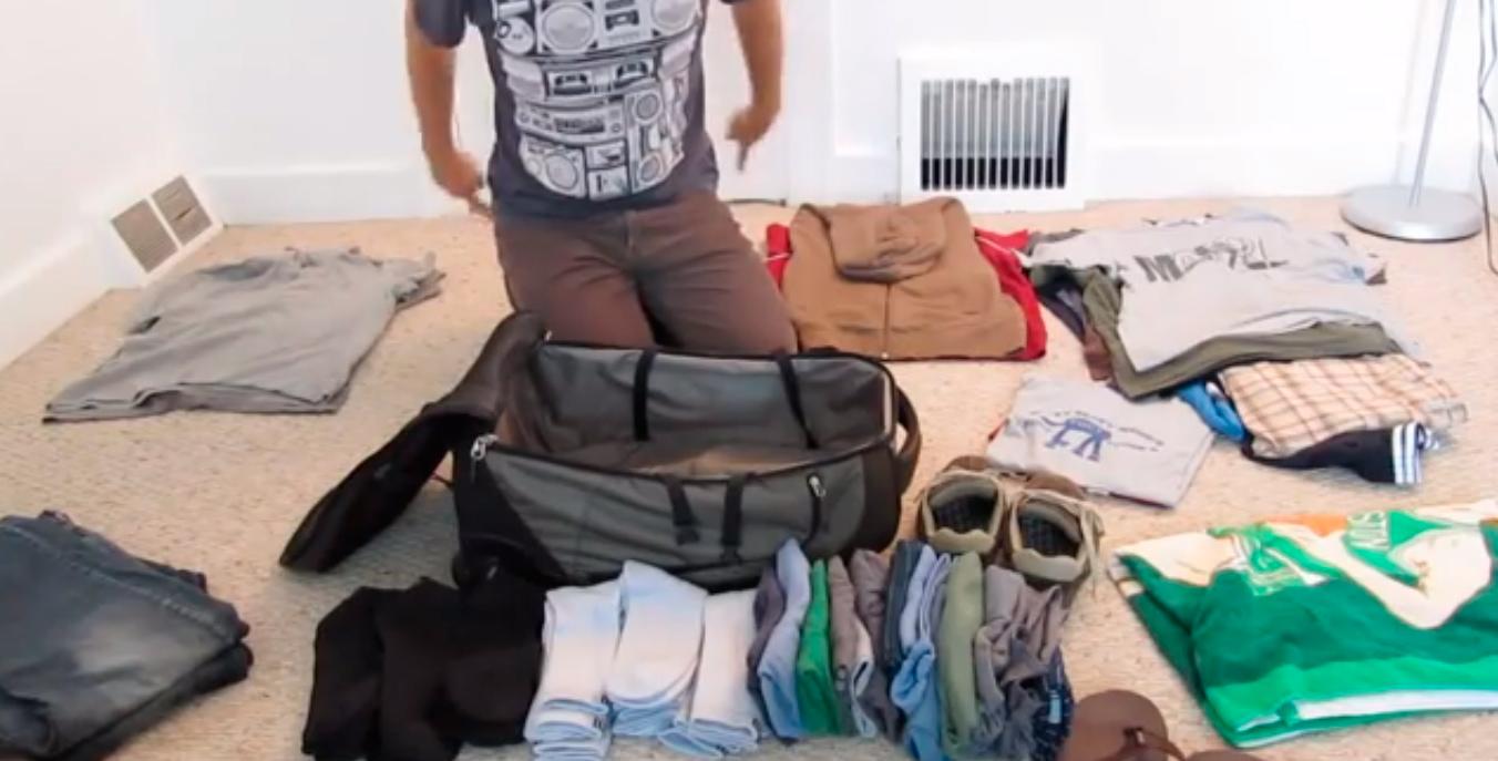 A forma mais inteligente e prática de fazer as malas que a gente já viu