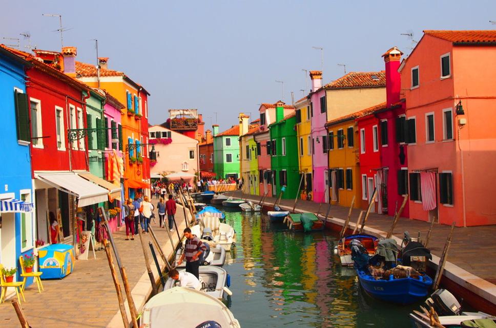 N o questione burano a pequena cidade colorida e - Murano bilder ...