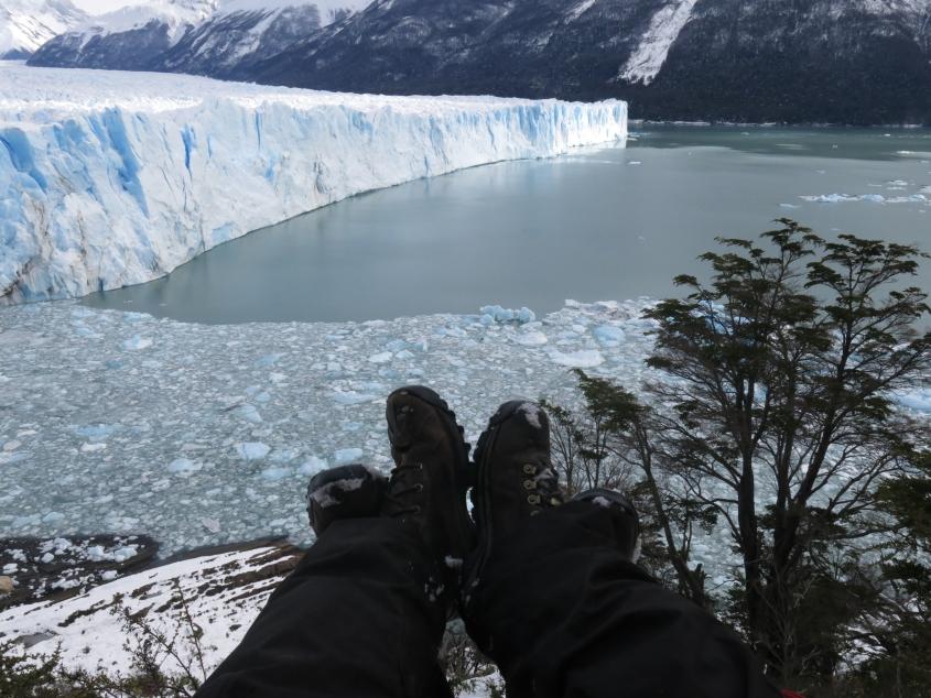 Marca registrada 4 Pies no Glaciar Perito Moreno, Argentina_reduzida2