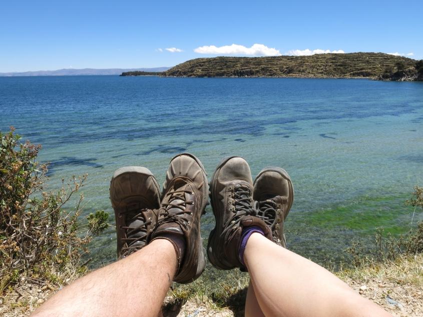 Marca registrada 4Pies na Ilha do Sol, Bolívia_reduzida2