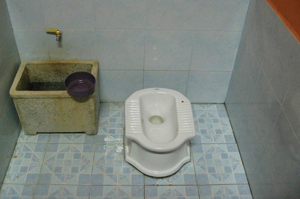 tailandés banheiro