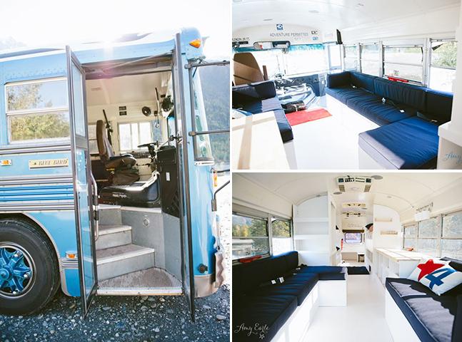 Esta família passou um ano viajando em um antigo ônibus escolar