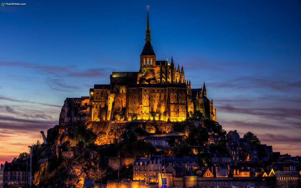 Mont-Saint-Michel-Castle