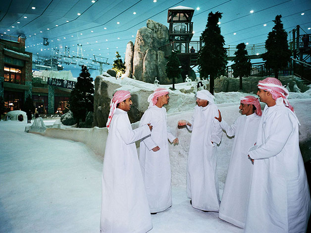 Dubai, Ski Dubai, Indoor Skiing Hall