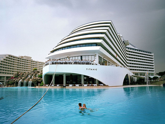 Turkey; Antalya; Lara Beach; Titanic Resort Hotel