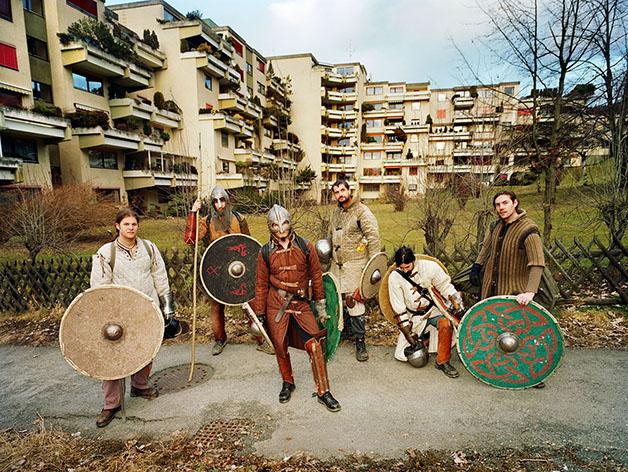 Austria; Leoben; Viking Reenactors