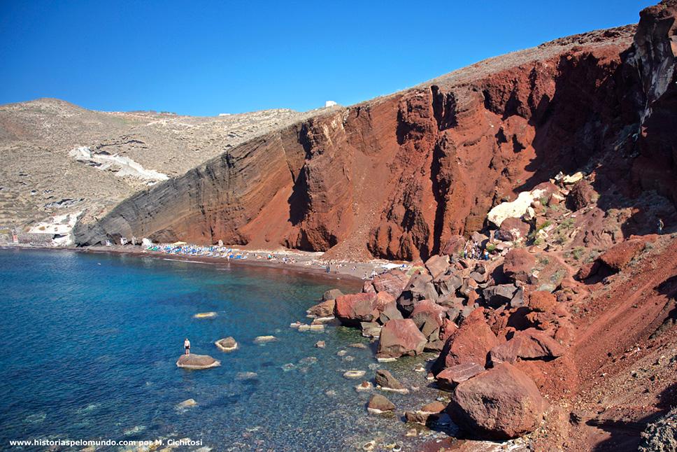 Ilha-de-Santorini-na-Grécia