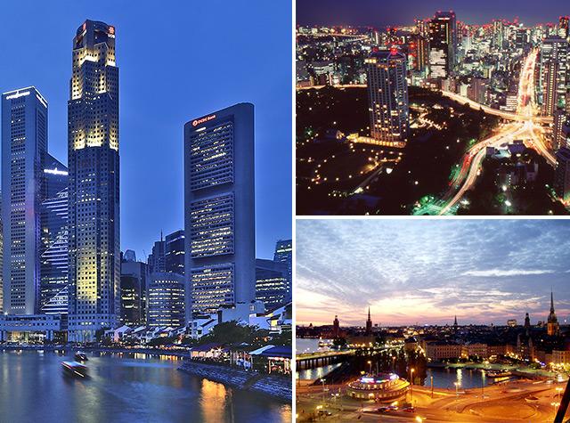 Saiba quais são as 10 cidades mais seguras do mundo
