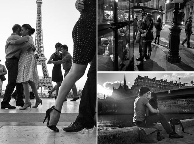 Cidade do amor: livro com fotos em preto e branco capta momentos de amor em Paris