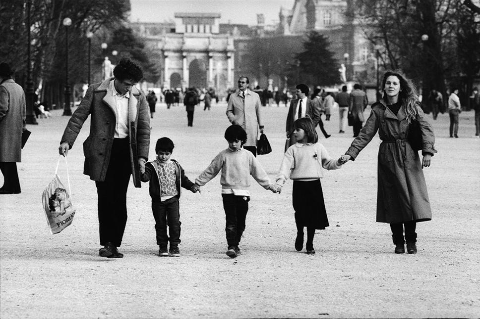 Jardin des Tuileries, 1984