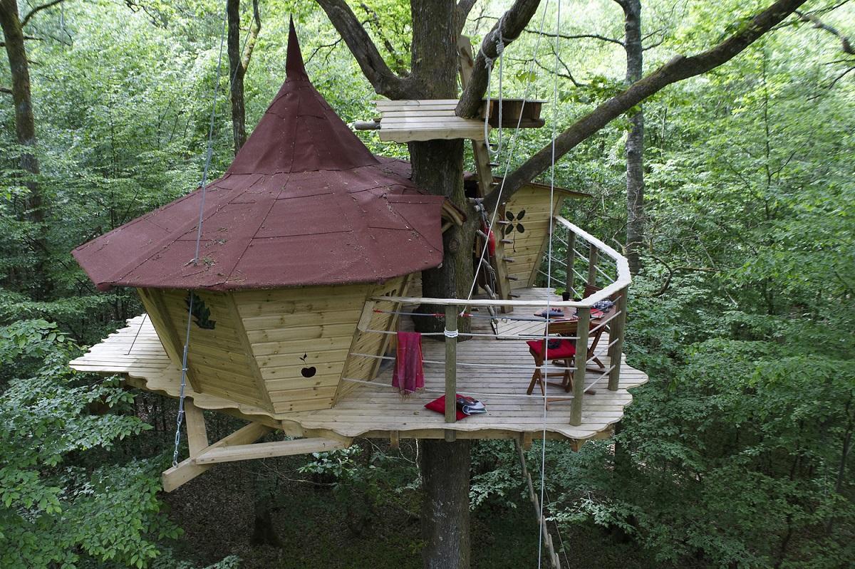 cabane du bois