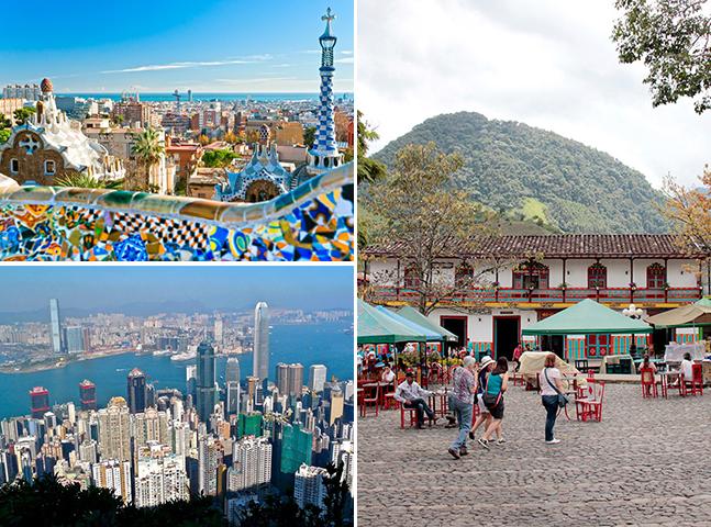 10 cidades incríveis pelo mundo para quem quer ser um nômade digital