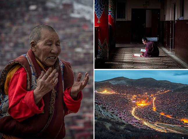 A cidade tibetana que concentra o maior número de monges e freiras no mundo
