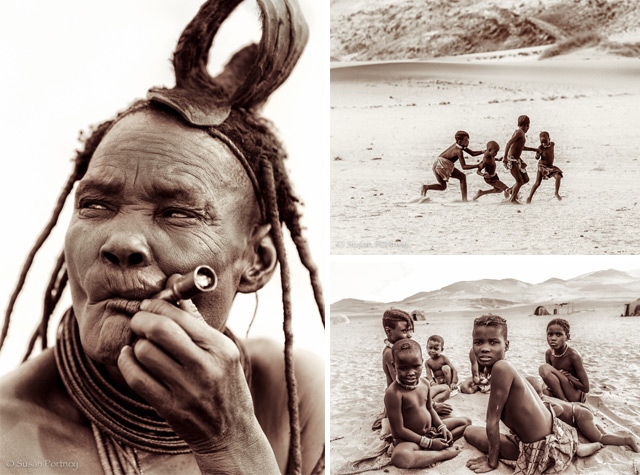 Fotógrafa retrata o cotidiano de tribo semi-nômade em região remota da Namíbia