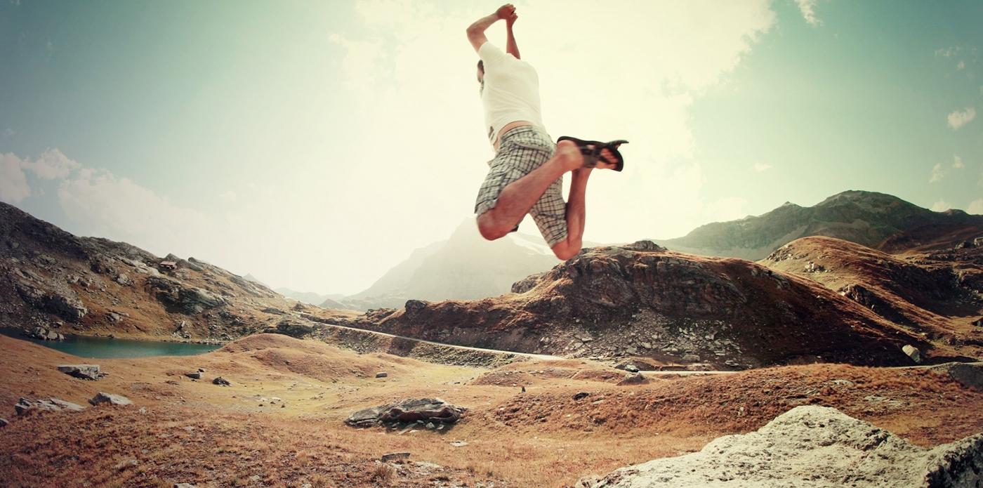 12 ideias para você se jogar para ser feliz