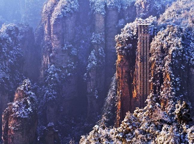 Só pra corajosos: conheça a vista do elevador panorâmico mais alto do mundo