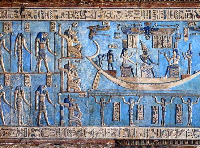 No Egito existe um templo com mais de 4 mil anos com obras de arte incrivelmente bem preservadas