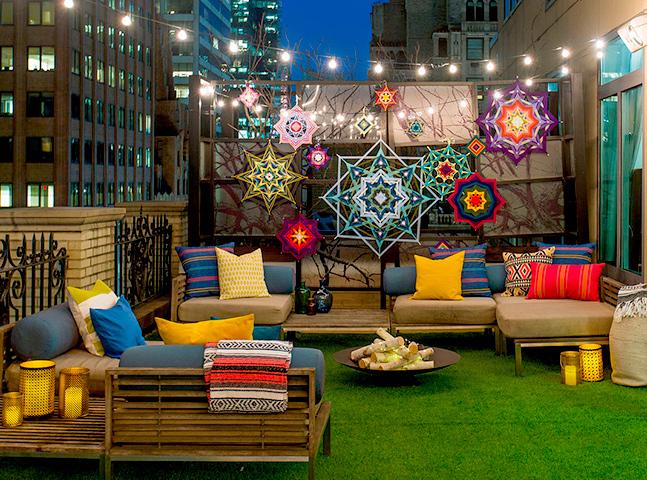 Hotel oferece hospedagem em barraca no telhado por US$ 2 mil a diária