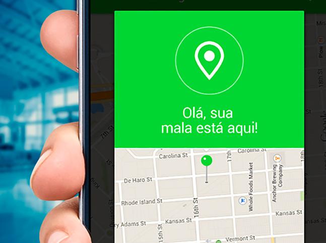 Startup brasileira desenvolve dispositivo para rastreamento de bagagem