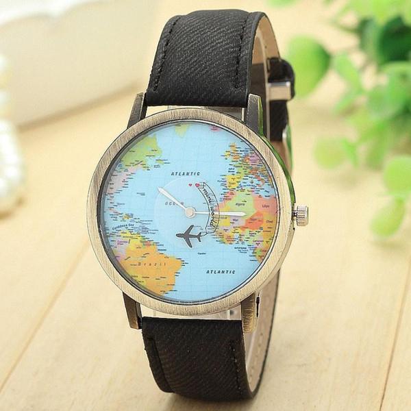 Este relógio foi feito especialmente para quem ama viajar