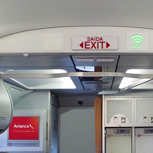 Avianca agora oferece wi-fi grátis em seus voos