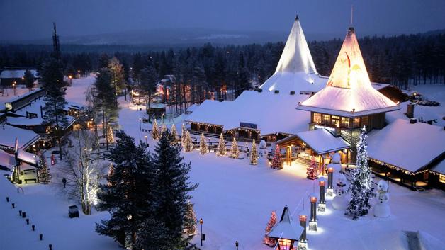 Lapônia, na Finlândia