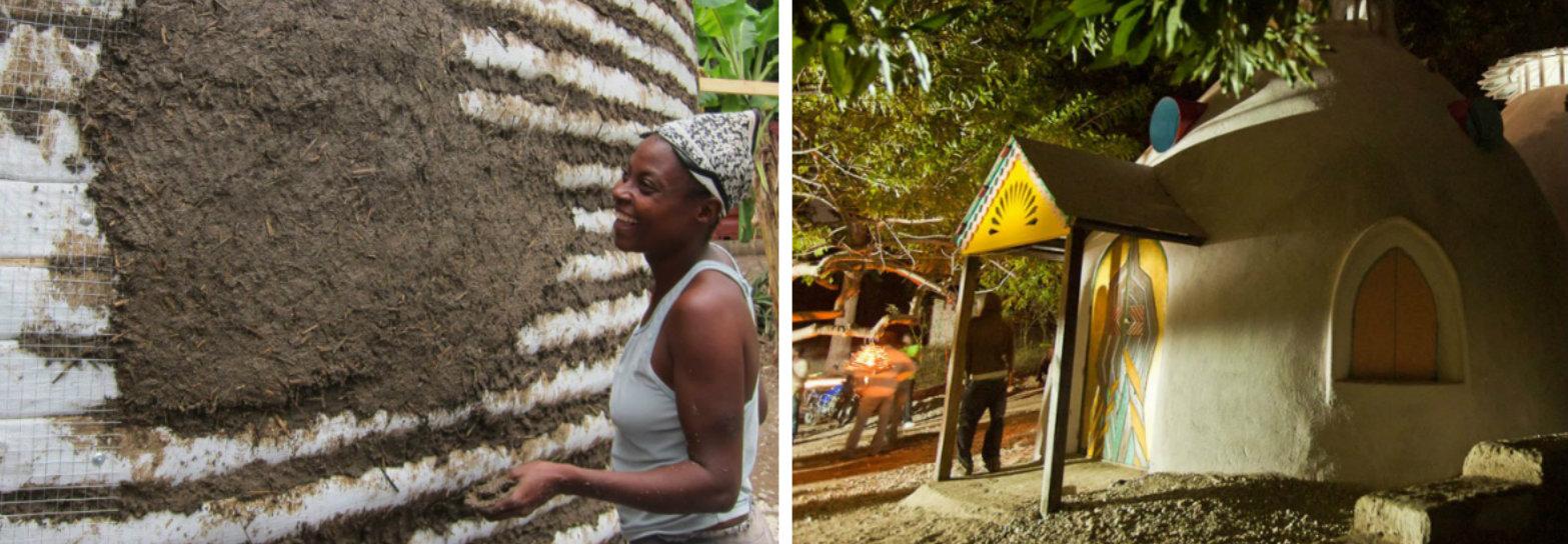 Ela está transformando o Haiti ao criar casas sustentáveis e modernas feitas de bambu