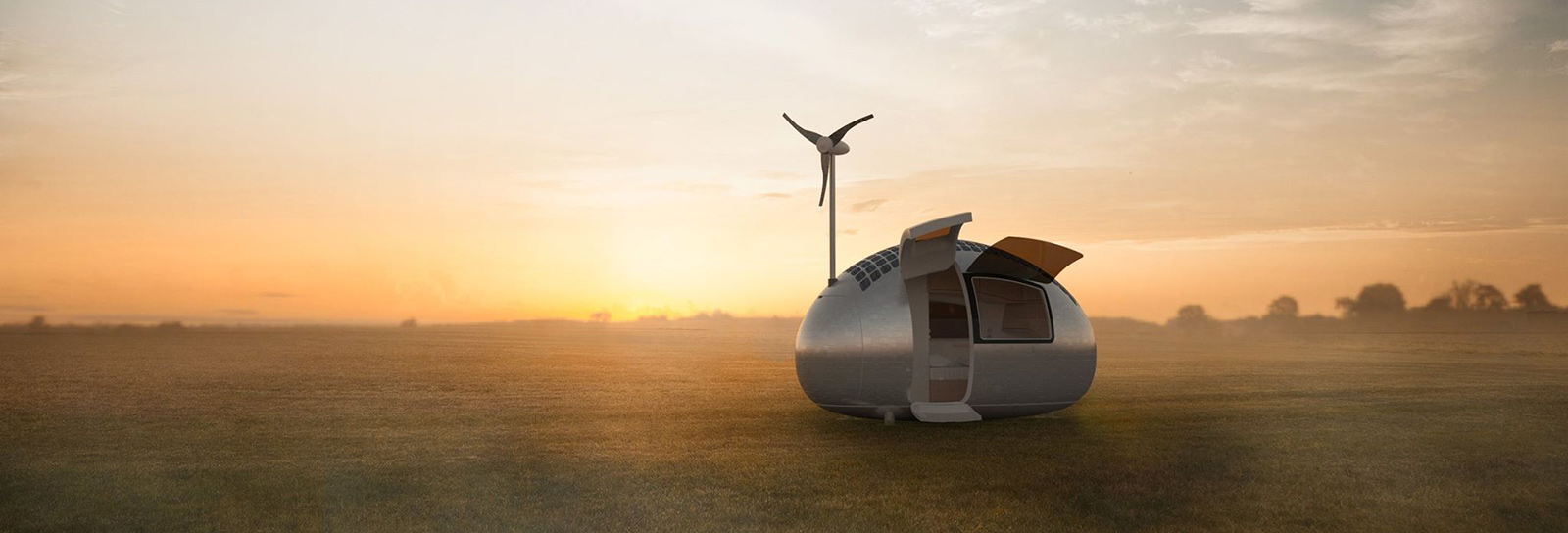 Esta casa móvel produz sua própria energia e se muda com você para qualquer lugar do mundo