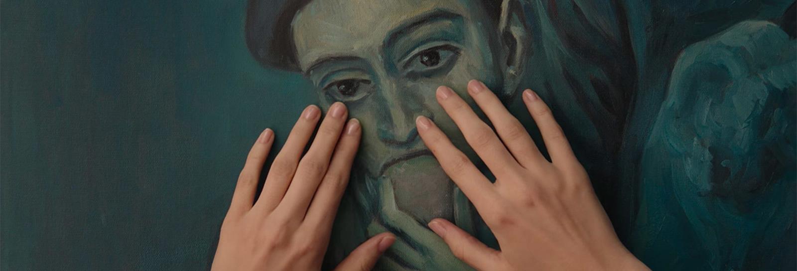 Exposição em Moscou apresenta quadros de grandes artistas a deficientes visuais