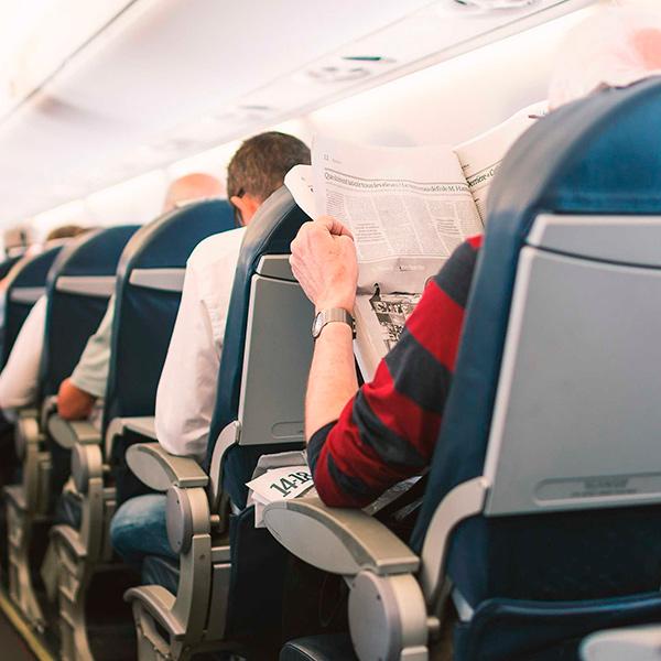 Companhia aérea estuda pílula capaz de detectar como os passageiros se sentem durante o voo