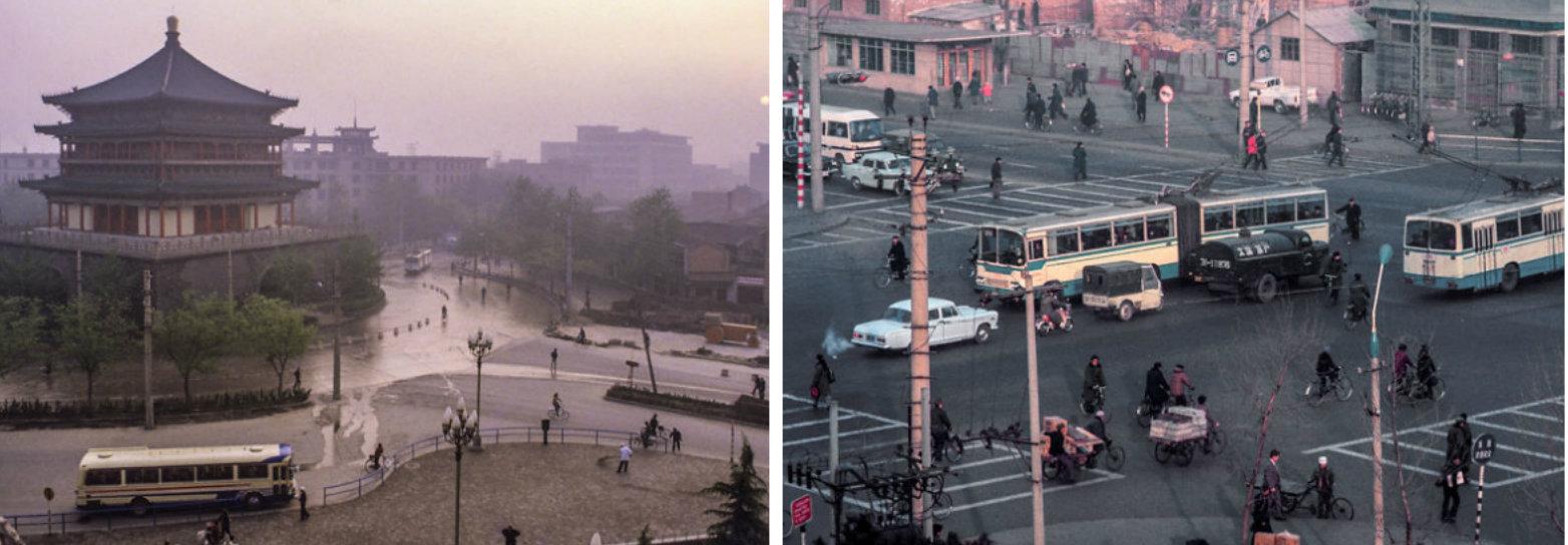 Viagem ao passado: essa série de fotos mostra como era a China nos anos 80