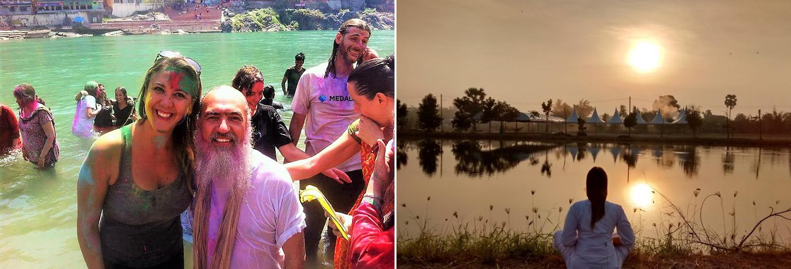 A viagem espiritual de uma brasileira pelo mundo