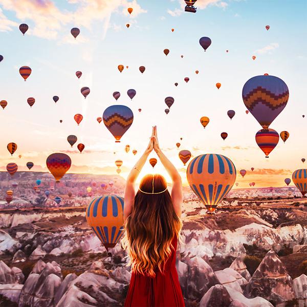 A Capadócia, na Turquia, é tão incrível que as fotos parecem feitas no Photoshop