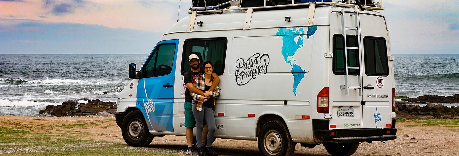 Sem largar tudo ou tirar ano sabático, casal viaja pelas Américas