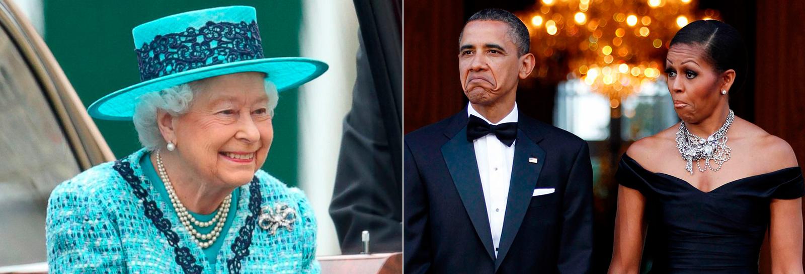 Se joga: a família Obama e a Rainha Elizabeth II estão procurando gestores de redes sociais