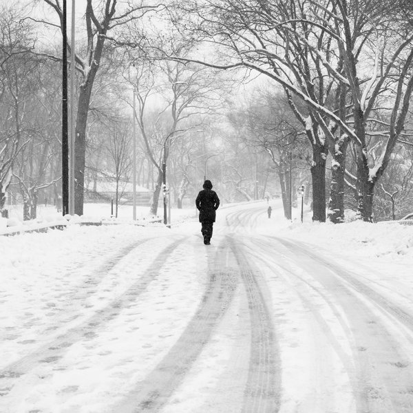 Brasileiro capta imagens intensas em P&B da Nova York coberta de neve