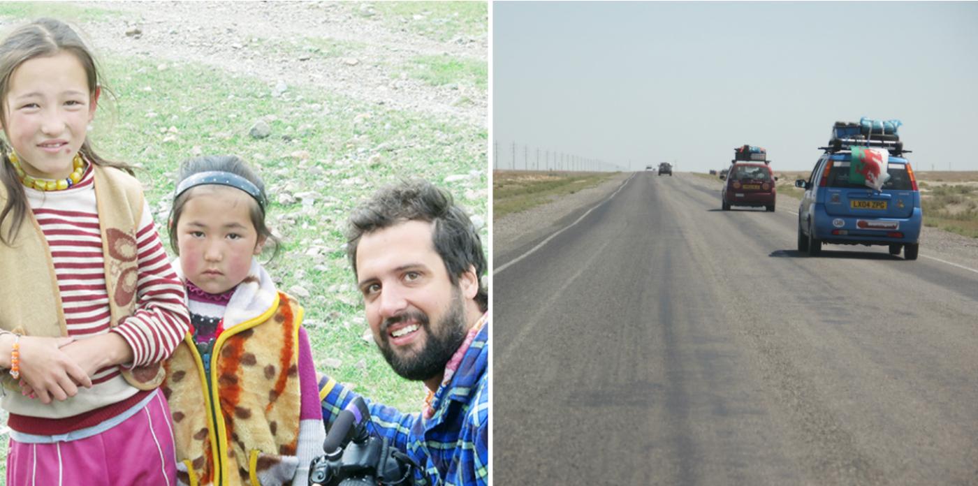Brasileiro que foi de Londres a Mongólia num carro velho narra suas desventuras em livro