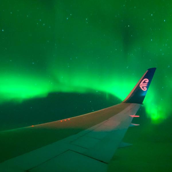 Já existe um voo comercial para observar a aurora boreal