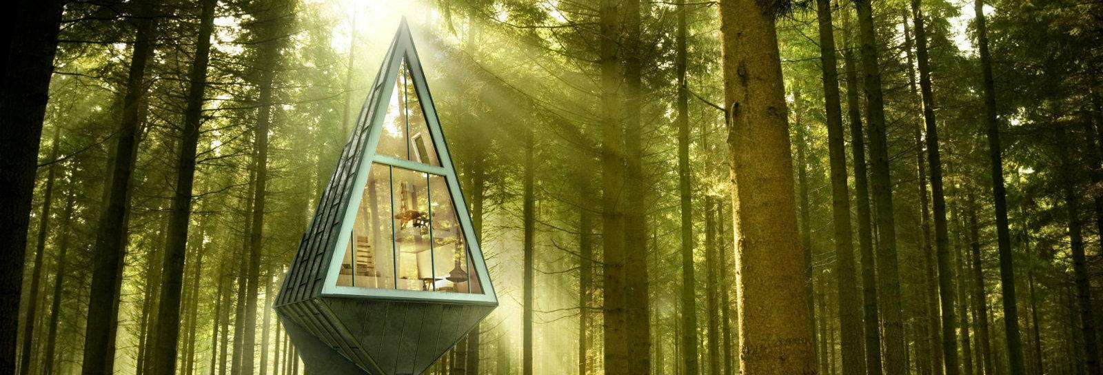Arquiteto cria projeto para mostrar como é viver sustentavelmente fora das grandes cidades