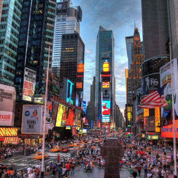 NY tem estação solar para recarga de celulares