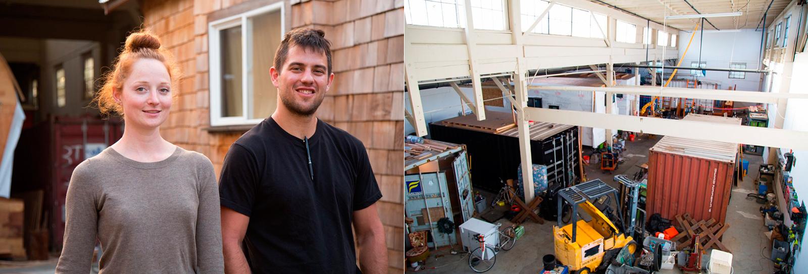 Casal que não tinha dinheiro para aluguel na cidade cria negócio de pequenas casas feitas de contêineres