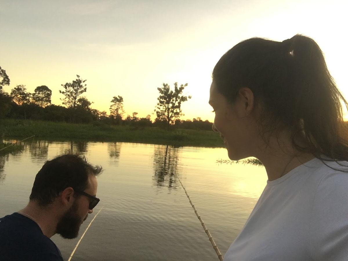 02-16 Rafael e Isabel pescando