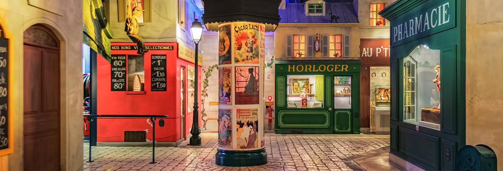 O bairro queridinho de Amélie Poulain ganhou uma maravilhosa versão em miniatura