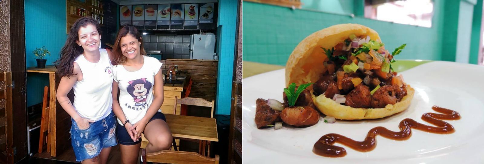 Mineiras investem em sanduíches de pão de queijo e fazem sucesso em Cabo Frio