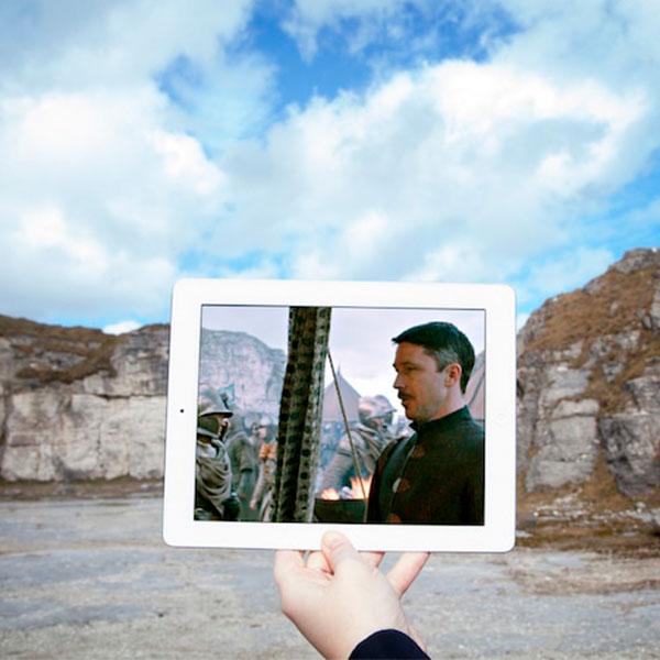 Amigas caçam e fotografam cenários onde foram gravadas cenas de GOT